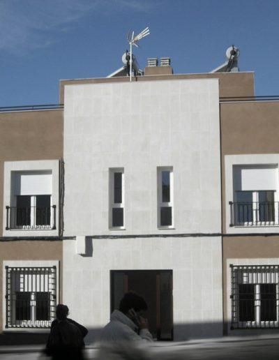construcción de apartamentos en Cáceres