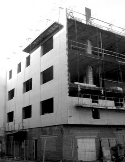 Bloque de viviendas en Mérida Cáceres