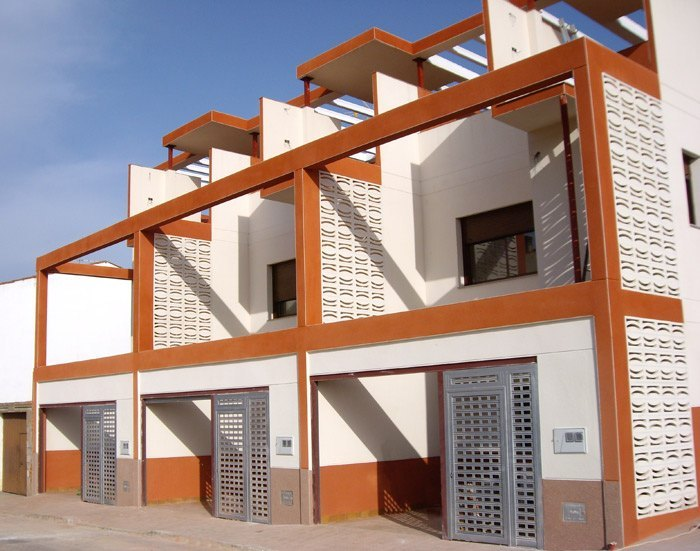 Chalets adosados en Mérida