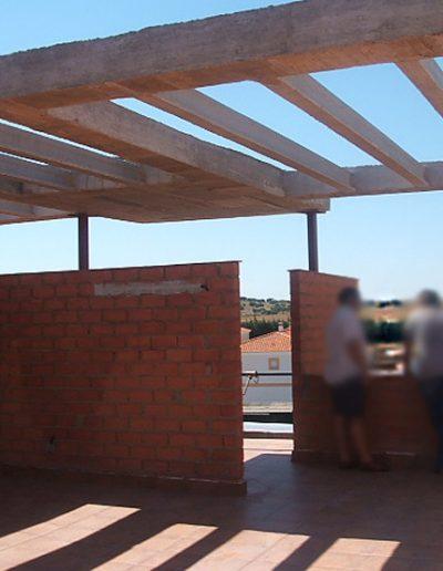 Construcción de viviendas con azotea en Badajoz